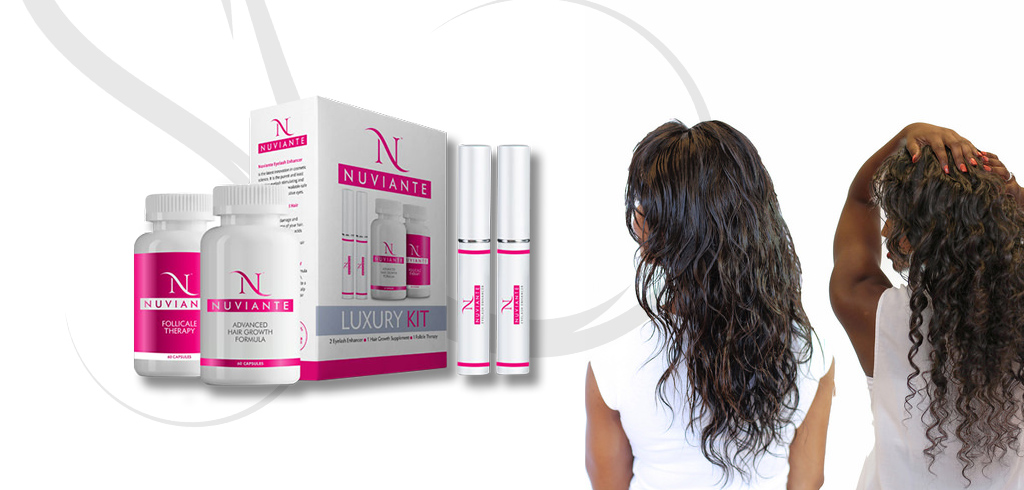 Reinvent the aspect of your hair with Nuviante Luxury Kit